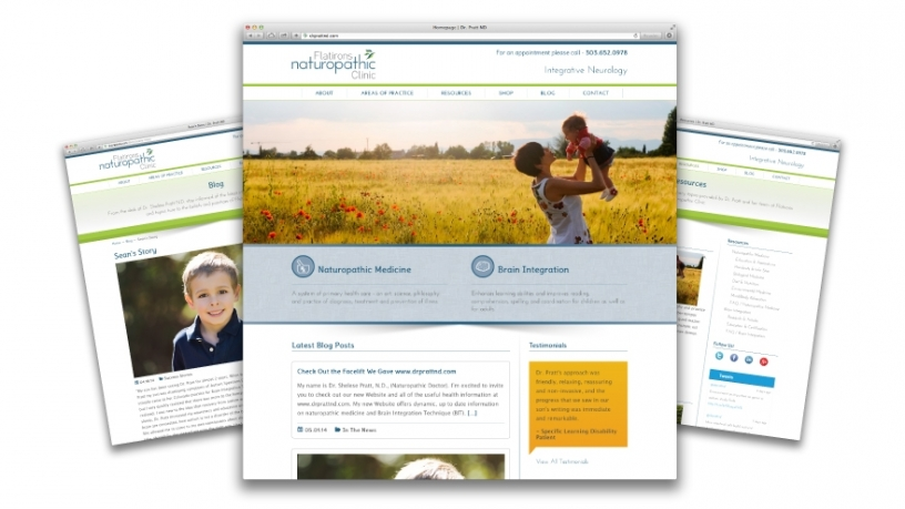 Dr. Pratt of Flatirons Naturopathic Clinic Introduces New Site With the Help of Tool Studios